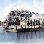 Ile Saint Louise - Parigi