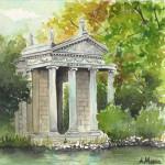 Tempietto Villa Borghese - Roma