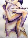 Locandina mostra personale Mosca