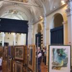 interno ex chiesa san fedele calusco d'adda