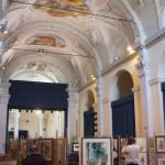 interno ex chiesa san fedele provincia bergamo